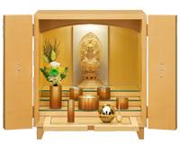 リッツL 縦丸 メープル 仏具+仏像